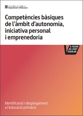 Competències bàsiques de l'àmbit d'autonomia, iniciativa personal i emprenedoria. Educació primària
