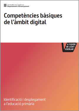 Competències bàsiques de l'àmbit digital. Educació primària