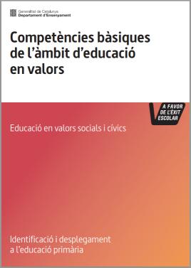 Competències bàsiques de l'àmbit d'educació en valors. Educació primària