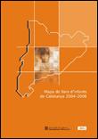 Mapa de llars d'infants de Catalunya 2004-2008